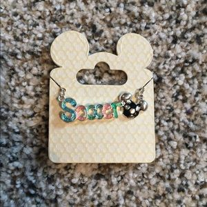 Disney Soccer Necklace